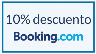 Descuento 10% Booking